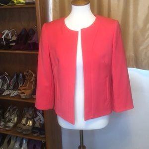 Tahari Lined Short Length Blazer